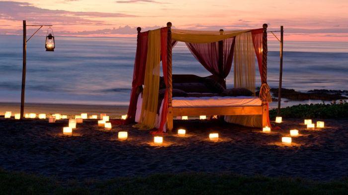 Tämä hämmästyttävän kaunis sänky sijaitsee Indonesiassa. Kuka ei haluaisi viettää lomaa täällä?