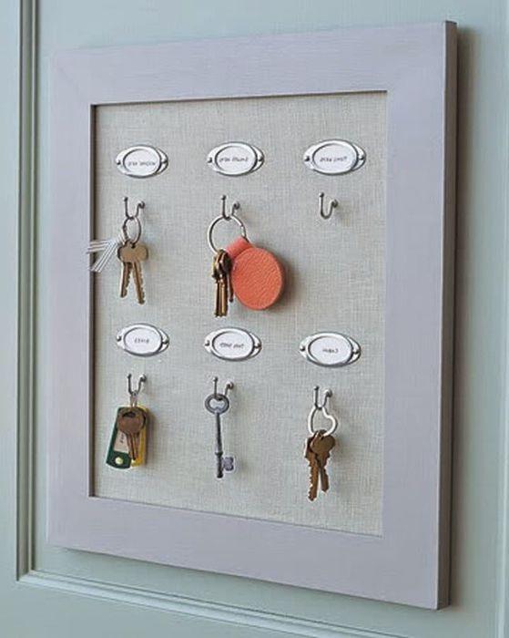 Закачвайки ключовете на входа на къщата, никога не трябва да ги търсите из къщата.