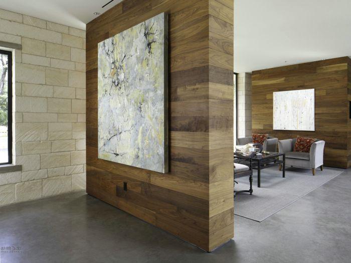 Piękna drewniana przegroda stworzy w pomieszczeniu niepowtarzalny i przytulny klimat.