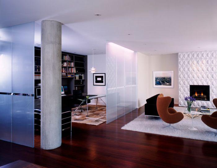 Niezwykle stylowe i dyskretne rozwiązanie do małych pomieszczeń.