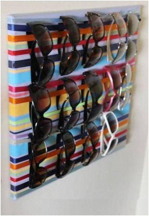 15. Színes szalagok és divatos szemüvegek - elegáns kombináció