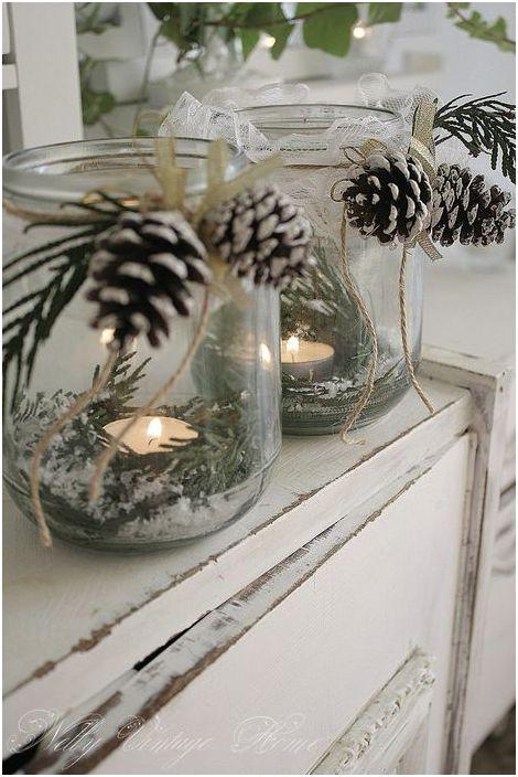 Направи си декоративни свещници