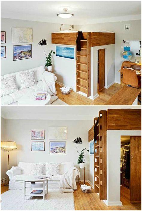 Спално място над съблекалнята.