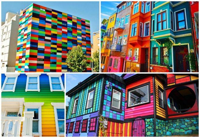 Най-красивите и цветни къщи от цял свят.