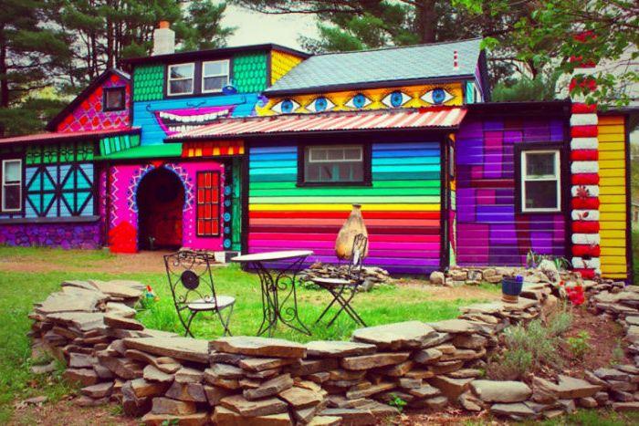 Наистина приказен дом.