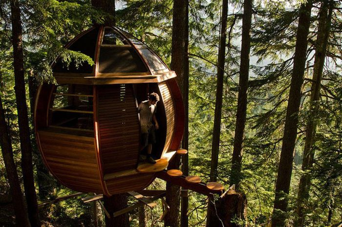Модерно и удобно таванско дърво.