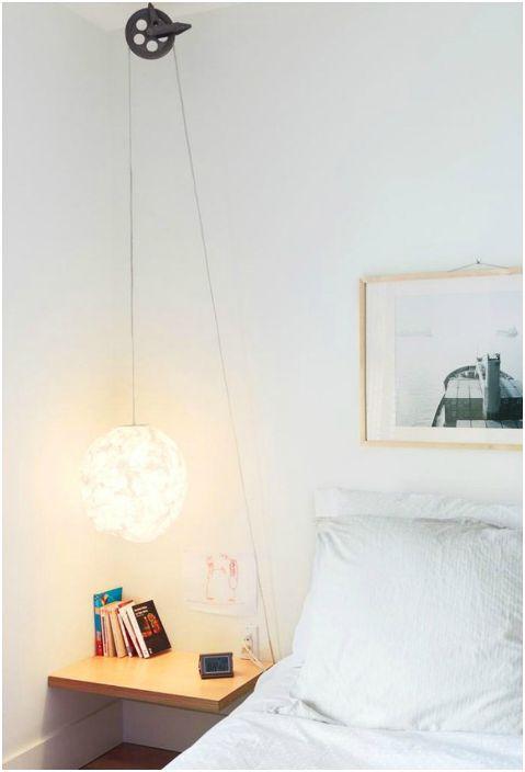 Udekoruj swoją sypialnię stylową i niezwykłą lampą