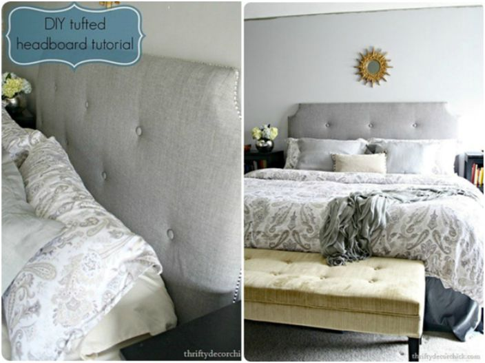 Wymyśl stylowy i niezwykły zagłówek do swojego łóżka i zrób to sam.