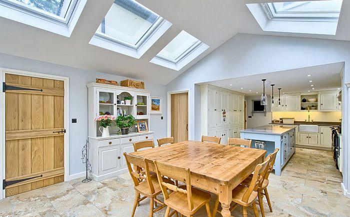 Rustic Dining Room autorstwa Harvey Norman Architects
