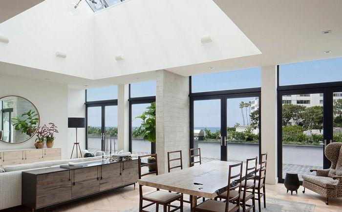 Wnętrze jadalni według CONTENT Architecture