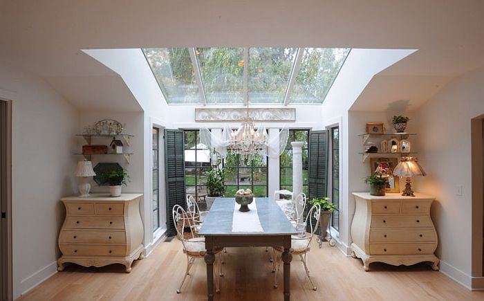 Wnętrze jadalni autorstwa George'a Clemensa Architecture