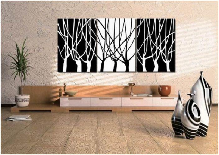 Бежовите мотиви в комбинация с черно и бяло са чудесна възможност да покажете оригиналност и стил.