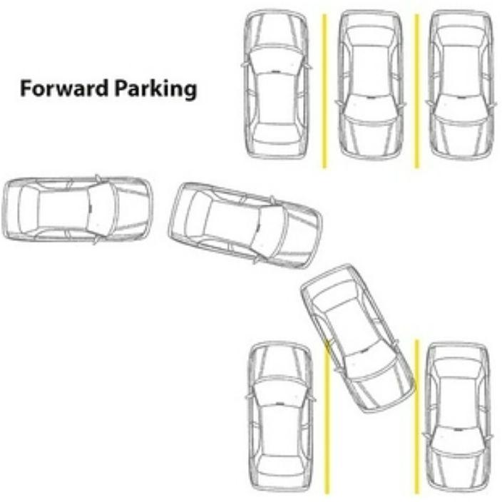 Na ciasnym parkingu lepiej zaparkować tyłem.