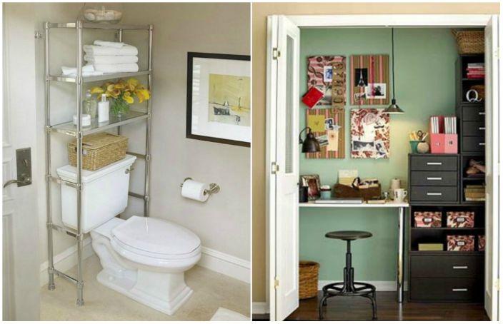 Блестящи идеи, които ще ви помогнат да организирате правилно пространството на апартамента.