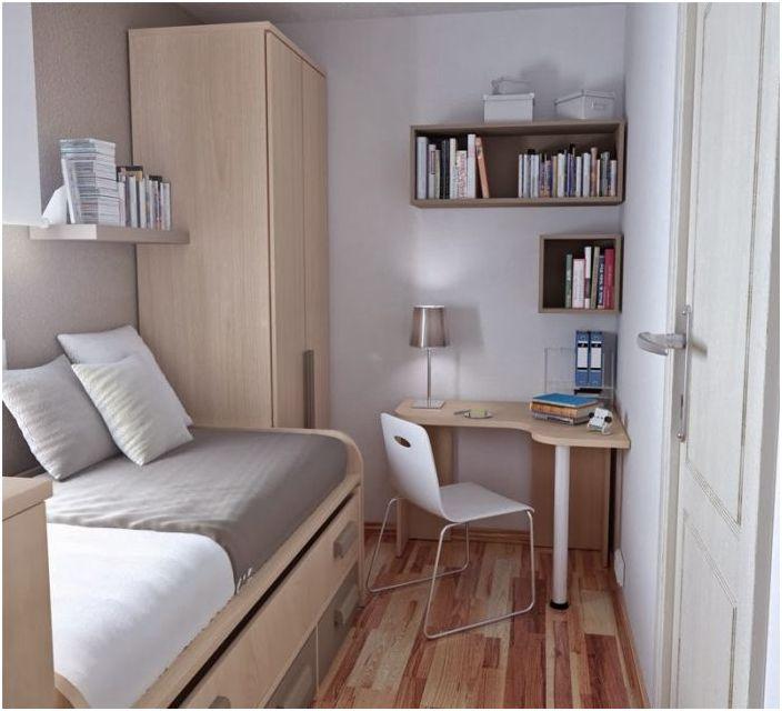 10. Успешно подреждане на мебели в спалнята