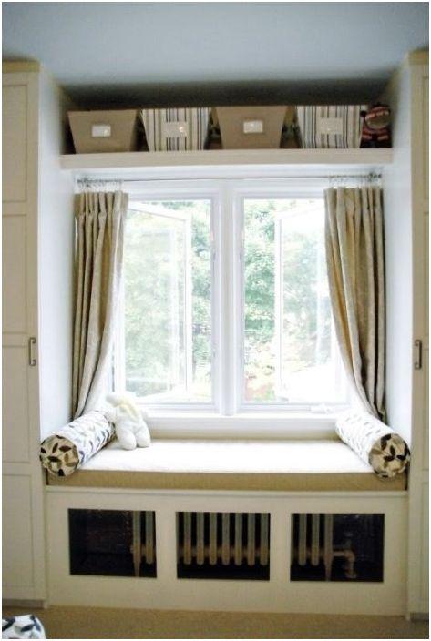 6. Функционално използване на пространството над прозореца