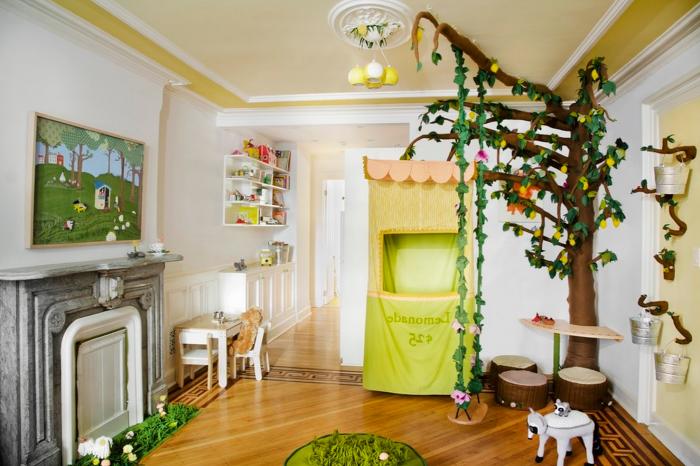 Прекрасни дизайнерски опции за стаи с висящи люлки.