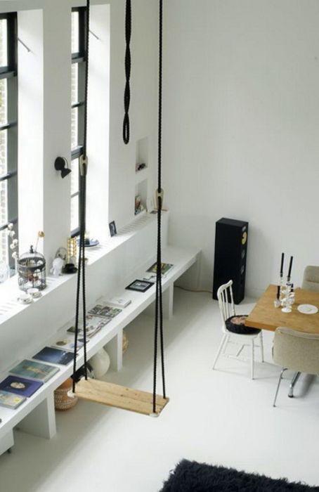 Люлките могат да бъдат чудесно допълнение към интериора. Просто, естетично и функционално парче в една стая.