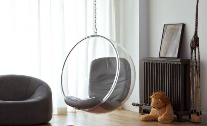 Суингът не е само забавление. Те могат да служат като прекрасна мебел и да подчертаят декора на една стая.