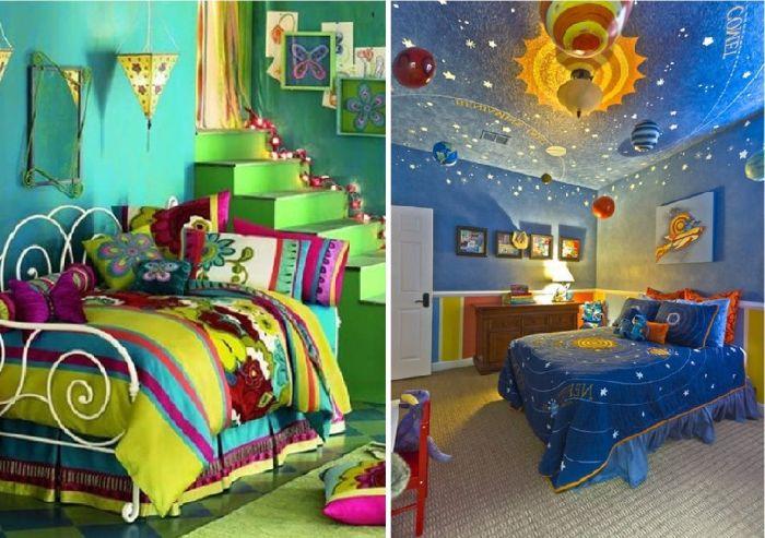 Świetne pomysły na projektowanie pokoi dziecięcych.