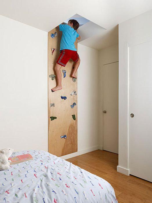 Pokój wspinaczkowy.