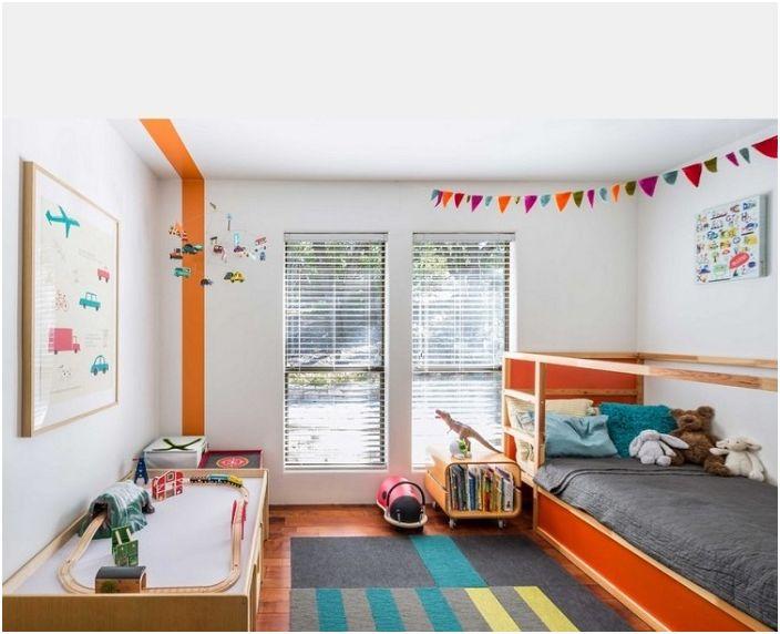 Светла стая с отлични дизайнерски решения в интериора в стил Арт Нуво.