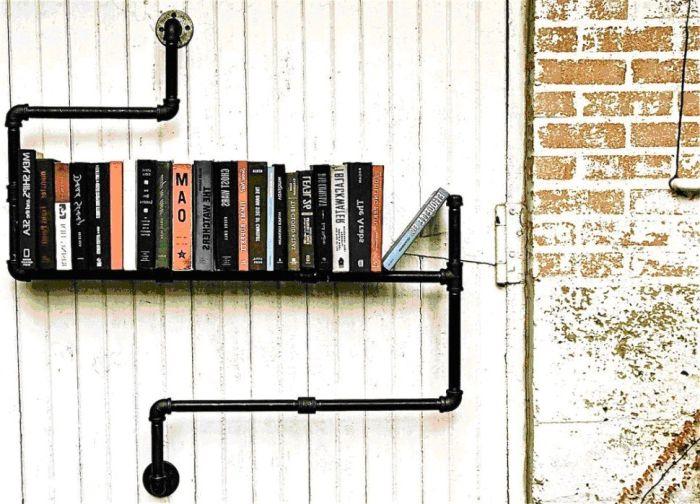 Старите книги ще изглеждат страхотно на рафт с изпускане.