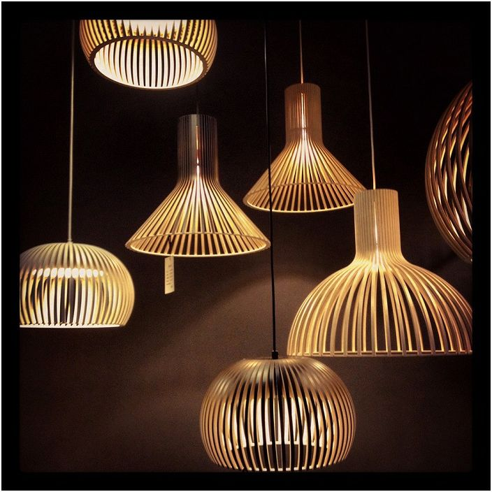 Дизайнерский светильники просто созданы для того чтобы украшать интерьер.