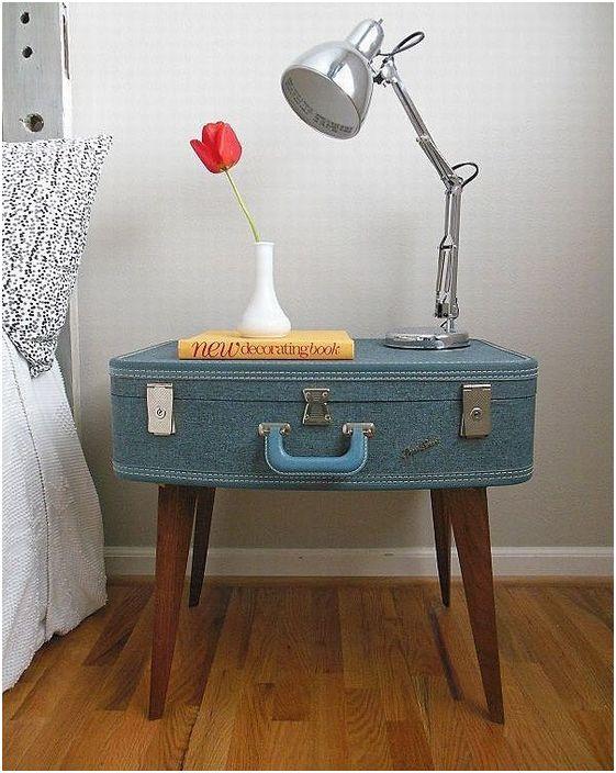 Направи си сам маса от куфар, сладък елемент, който ще направи интериора на стаята ти по-красив.