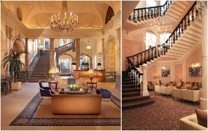 Trapp i middelhavsstil for perfekt interiørdesign i rom.