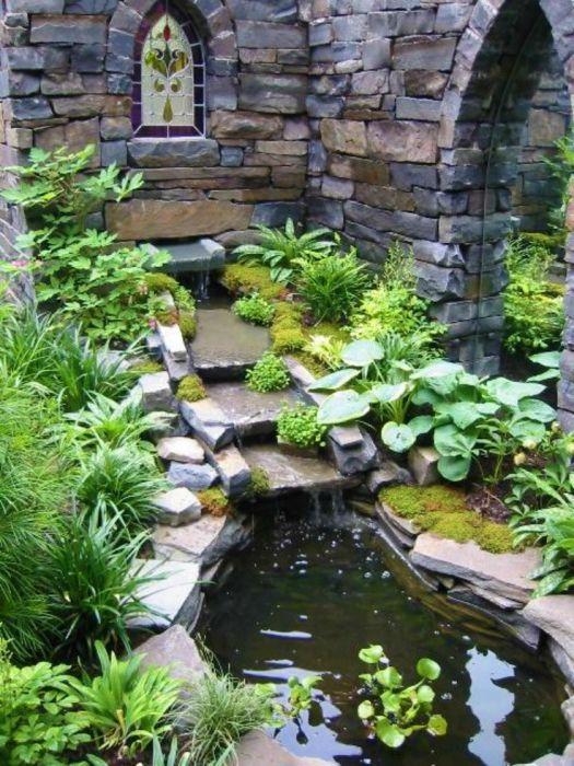 Прекрасна декорация за градината.