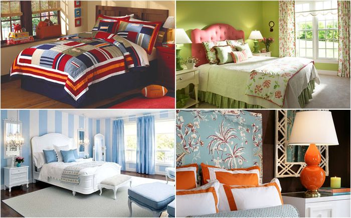 20 fantastiske fargekombinasjoner på soverommet