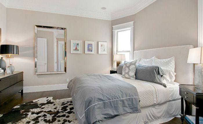 Спалня в неутрални цветове