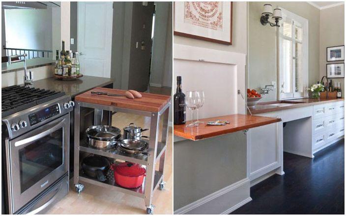 20 гениални идеи за подреждане на малки кухни