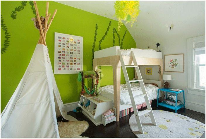 Тематична спалня за момчета.