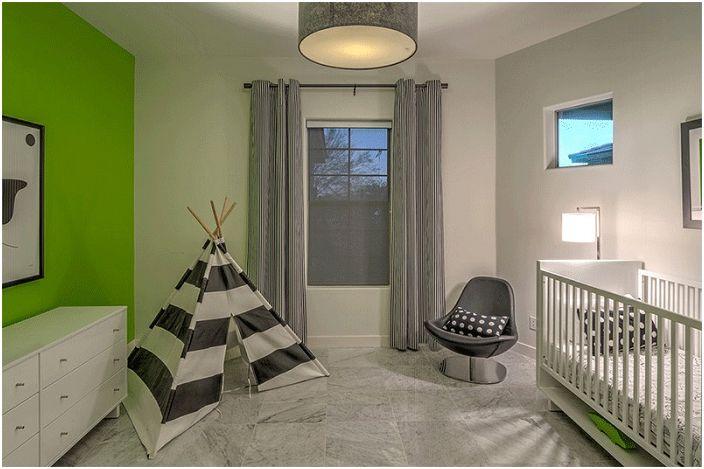 Необичайно решение за детска спалня.