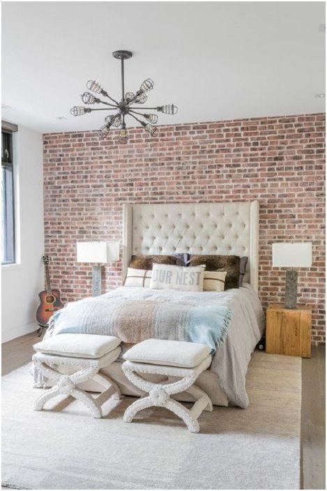 Функциите за дизайн на спалня в индустриален стил са идеални за модерния дом.