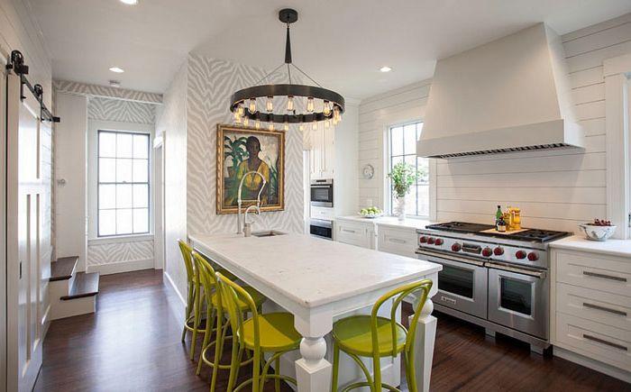 Kjøkkeninnredning av New England Design Works