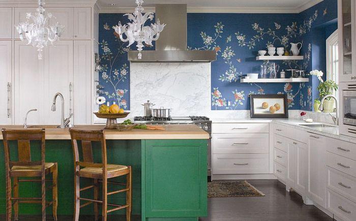 Eklektisk kjøkken av Andrea Schumacher Interiors