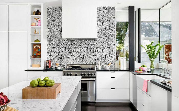 Kjøkkeninnredning av Hugh Jefferson Randolph Architects