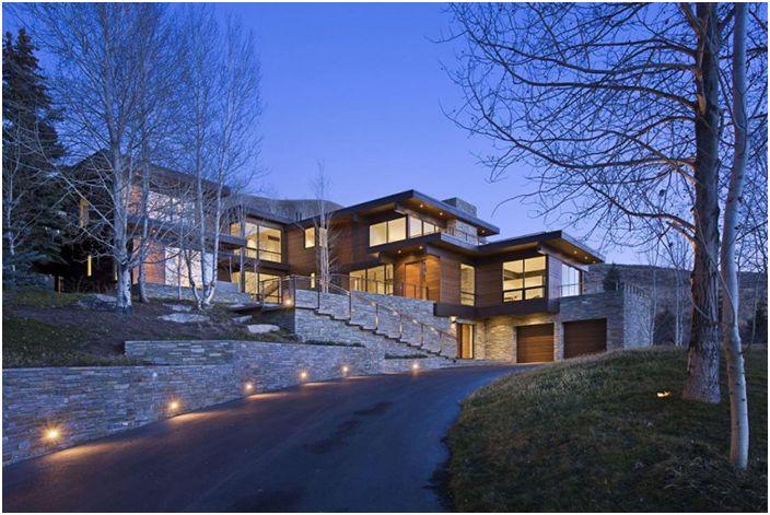 Красив жилищен комплекс с изненадващо уютен интериор от Айдахо