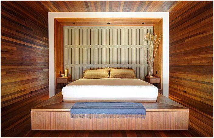 Soverominteriør av Bates Masi Architects