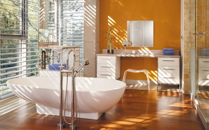 Индустриален интериор за баня