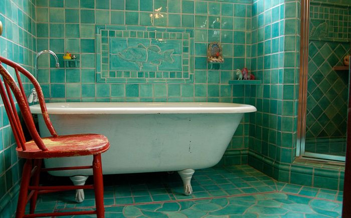 Filmore Clarkin vintage-makuuhuone