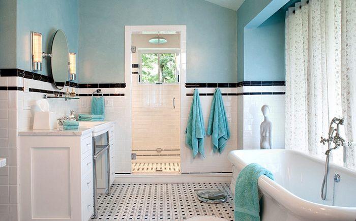 Perinteinen Tyner Constructionin kylpyhuone
