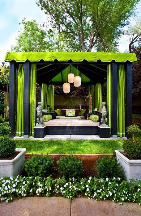 Вътрешен двор от Грег Ходсън Интериорен дизайн