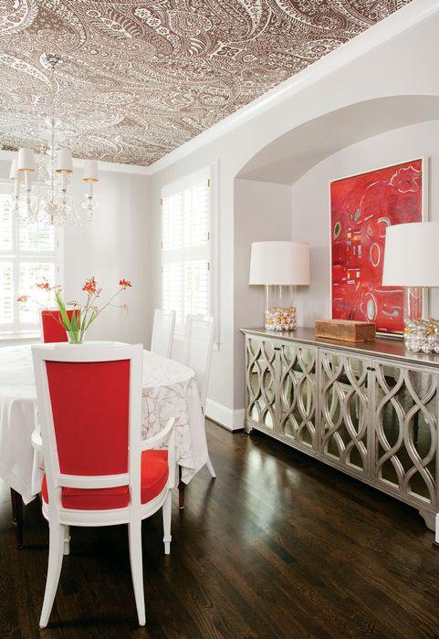 Идея номер 15. Турските краставици на тавана добавят подправка към интериора