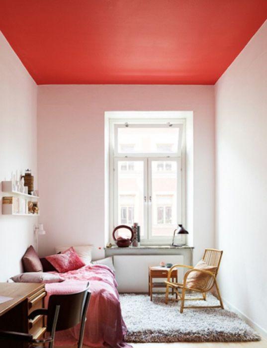 Идея номер 23. Червен таван