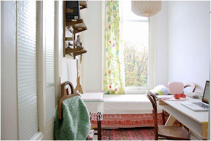 Интериор за спалня и офис в скандинавски стил от Холи Мардер
