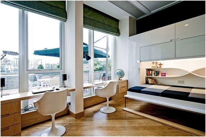 Интериор на домашния офис от Ample DESIGN